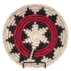 Ceremonial Patterned Basket by Iris Chief
