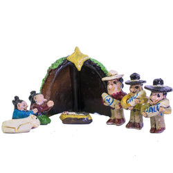 Nativity Set (8 Pieces) by Jonathan Chee