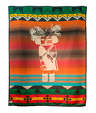 Sunset Crater Kachina Pendleton Blanket
