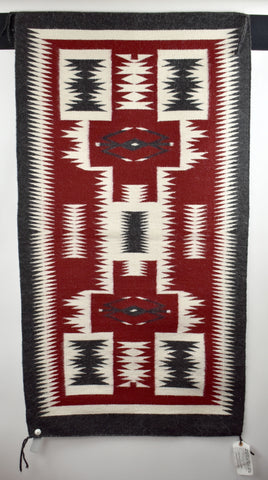 Storm Pattern Rug by Clara James