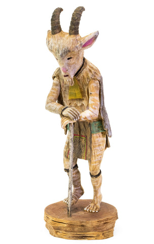 Billy Goat Katsina Doll by Tino Youvella