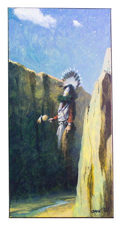 """To the Great Mystery"" Painting by Allen J. Bahe"
