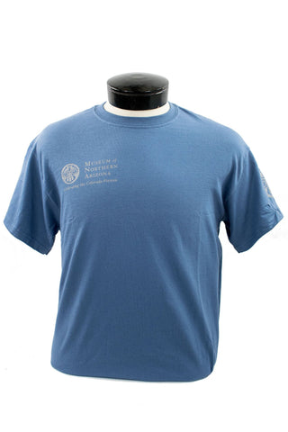 Museum of Northern Arizona Adult T-Shirt - Blue