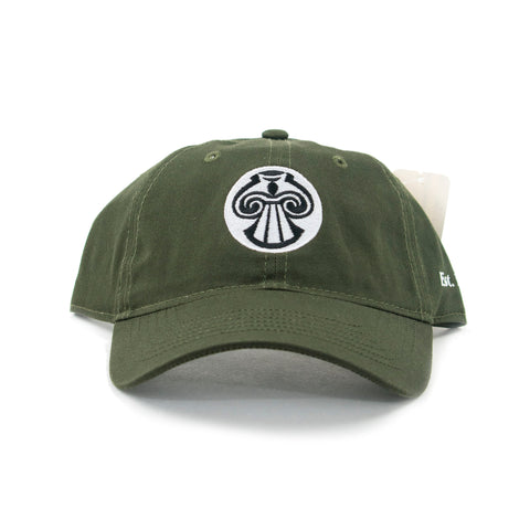 Green MNA Logo Adjustable Baseball Cap