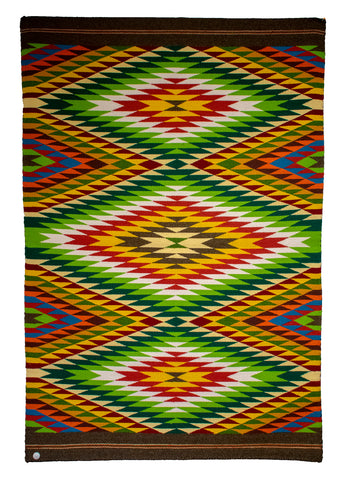 Eyedazzler Rug by Veronica Six