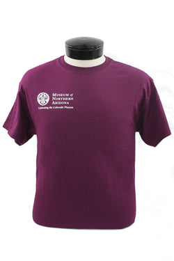 Museum of Northern Arizona Adult T-Shirt - Maroon