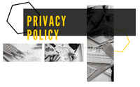 Image of branded slide for Privacy Policy