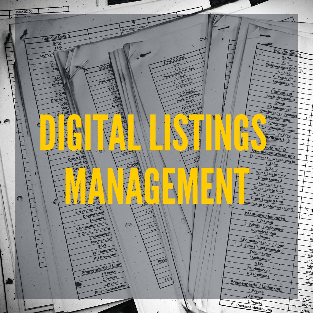 Image of digital listings management.