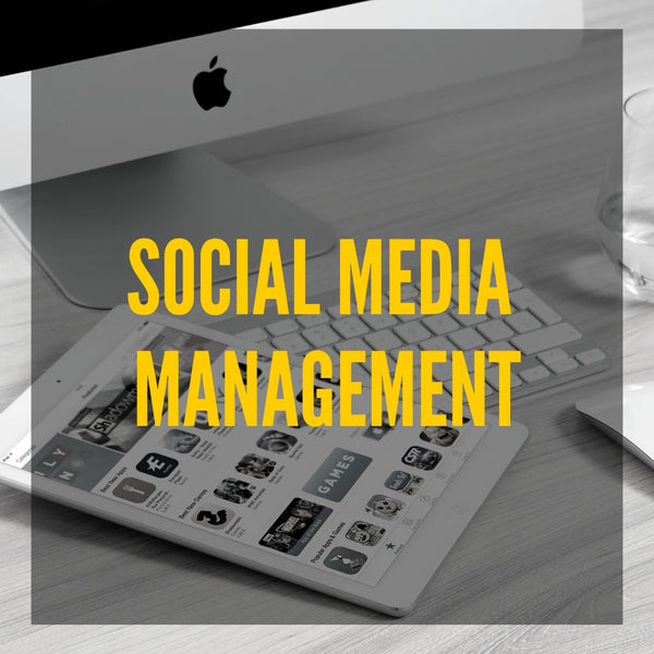 Image of social media management services.