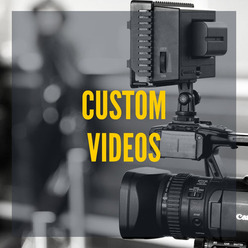 Image of custom videos.