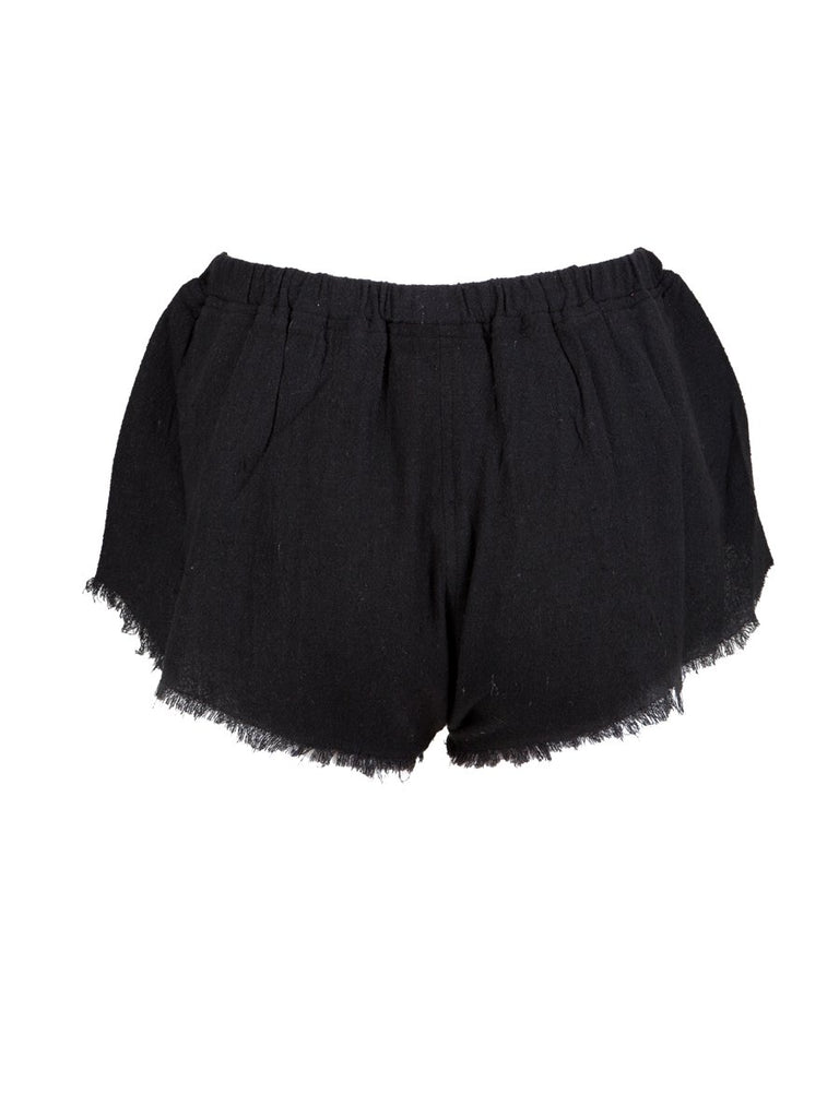 Fringe Shorts • Black