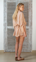 Luella Oversized Shirt Dress - Cameo Rose