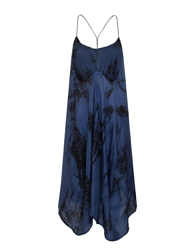 Zen Dress • Midnight Tie Dye