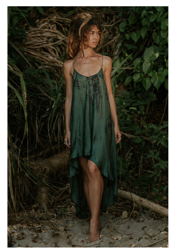 Zen Dress • Tourmaline Tie Dye