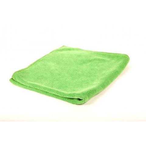 16x16 380gsm Soft Green Microfibre Polishing Cloth