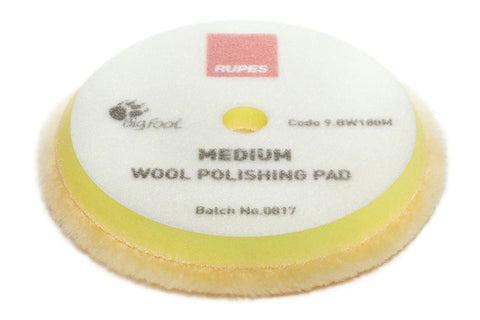Rupes Yellow Medium Wool Polishing Pad