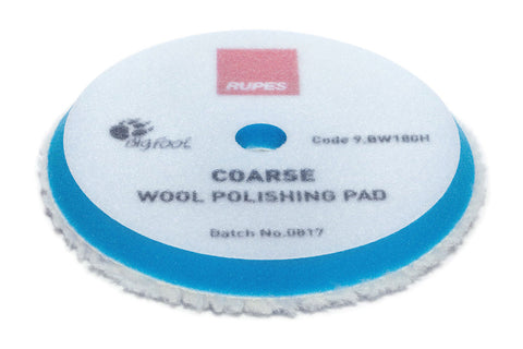 Rupes Blue Coarse Wool Polishing Pad
