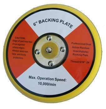 "6"" (150mm) Dual-Action Polisher Backing Plate"