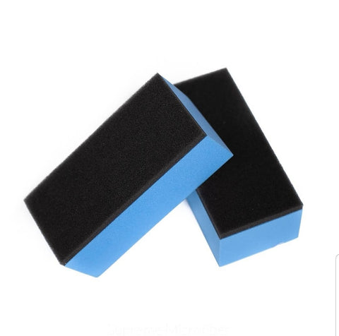 Ceramic Coating Applicator Block with 10x Suede Applicators