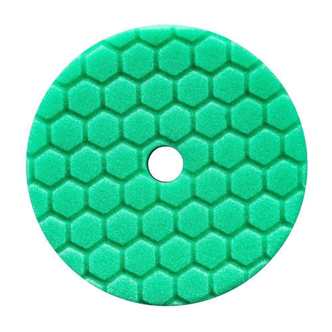 Chemical Guys Hex-Logic Quantum Green Heavy Polishing Pad