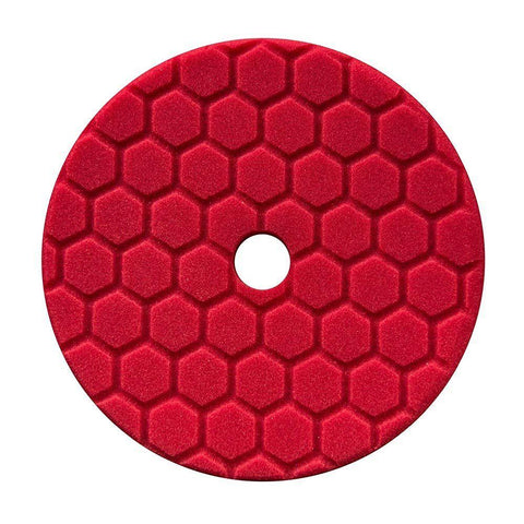 Chemical Guys Hex-Logic Quantum Red Fine Finishing Pad