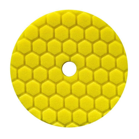 Chemical Guys Hex-Logic Quantum Yellow Heavy Cutting Pad