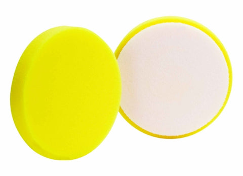 Detailing Kingdom 145mm Yellow Foam Polishing Pad (Medium Cutting)