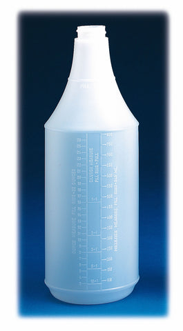 Empty Pro Spray Bottle With Dilution Markings (947ml)