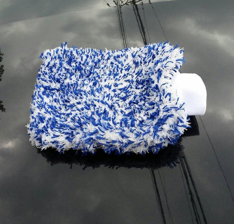 Extra Thick Microfibre Wash Mitt Double Sided