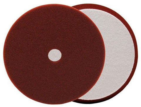 Buff and Shine URO-TEC Maroon Medium Cut/Heavy Polishing Foam Pad