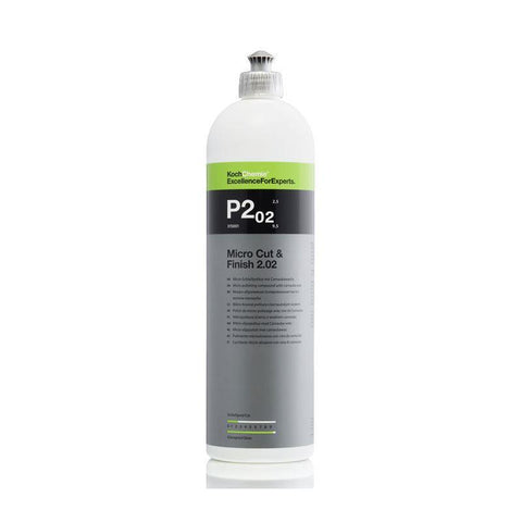 Koch Chemie P2.02 Micro Cut and Finishing Polish, with Carnauba Wax