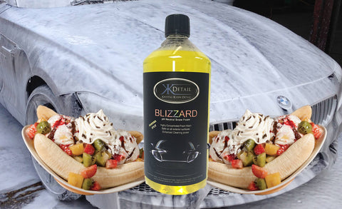 Krystal Kleen Detail Blizzard Advanced Snow Foam 1 Litre (Banana Split)