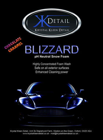Krystal Kleen Detail Blizzard Advanced Snow Foam 1 Litre (Chocolate Caramel)