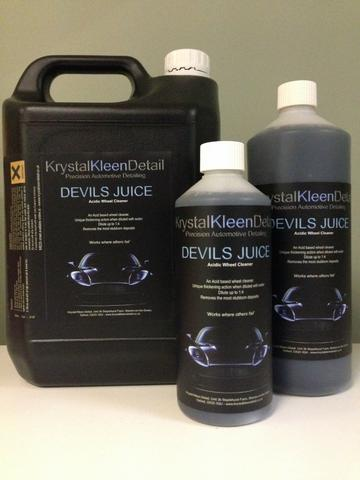 Krystal Kleen Detail Devils Juice Acidic Wheel Cleaner