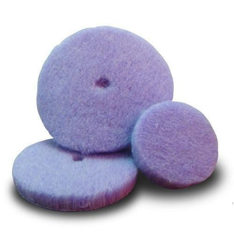 Lake Country Purple Foamed Wool Cutting Pad