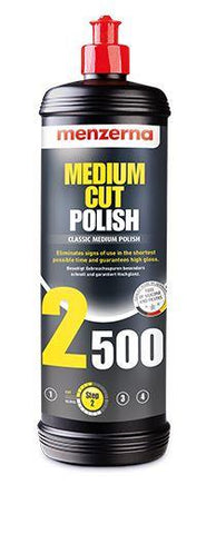 Menzerna Power Finish PF2500 (PO203) - Medium Cut Polish