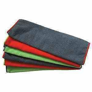 Pack of 6 General Purpose Microfibre Cloths, 220gsm