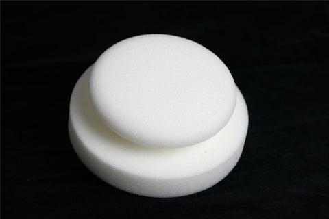 Scholl Concepts White Polishing Foam Hand Puck 130x50mm