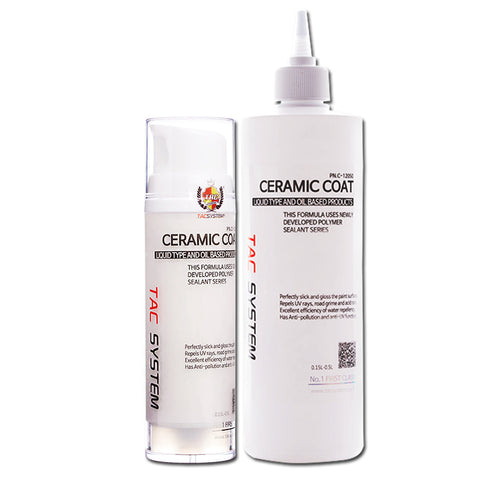 TAC Systems Ceramic Coat - Hydrophobic Polymer Sealant, High Gloss and Protection