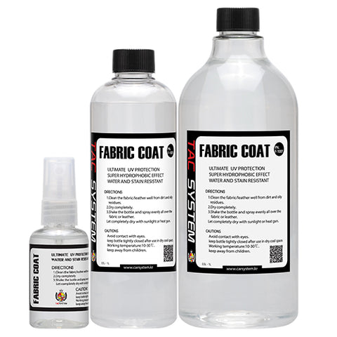 TAC Systems Fabric Coat - Hydrophobic, UV Protection, Stain Resistant