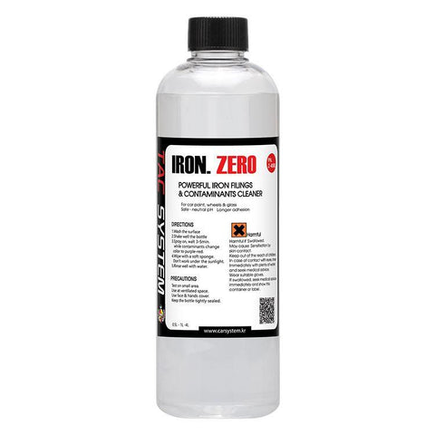 TAC Systems Iron Zero 500ml - pH Neutral, De-Ironiser, Brake Dust and Fallout Remover