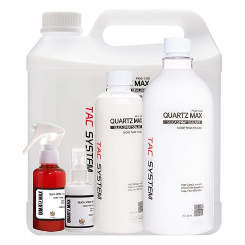 TAC Systems Quartz Max - Hydrophobic Silica Spray Sealant, High Gloss
