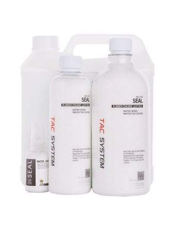 TAC Systems Seal - Water Based Plastic, Rubber, Leather and Tyre Dressing
