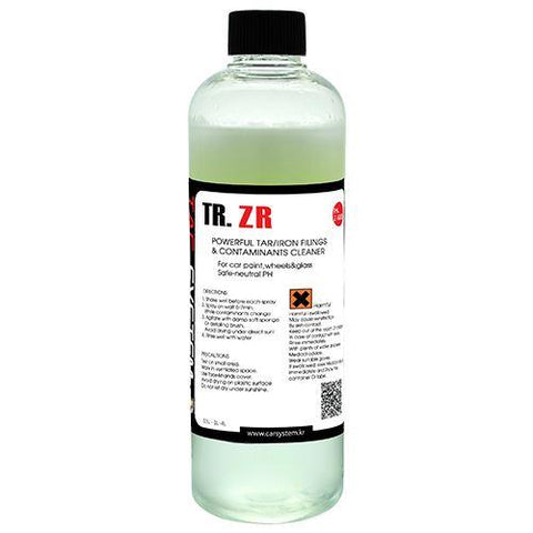 TAC Systems TR. ZR 500ml - De-Ioniser and Tar Remover, pH Neutral