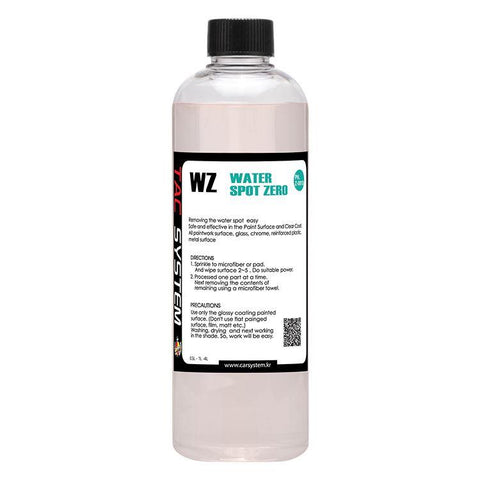 TAC Systems Water Spot Zero 500ml - Water Spot and Mineral Remover