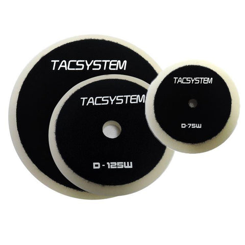 Tac System White Heavy Cutting Pad