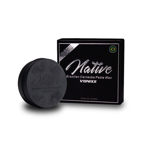 Vonixx Native Brazilian Carnaúba Paste Wax – Black Edition (100ml)
