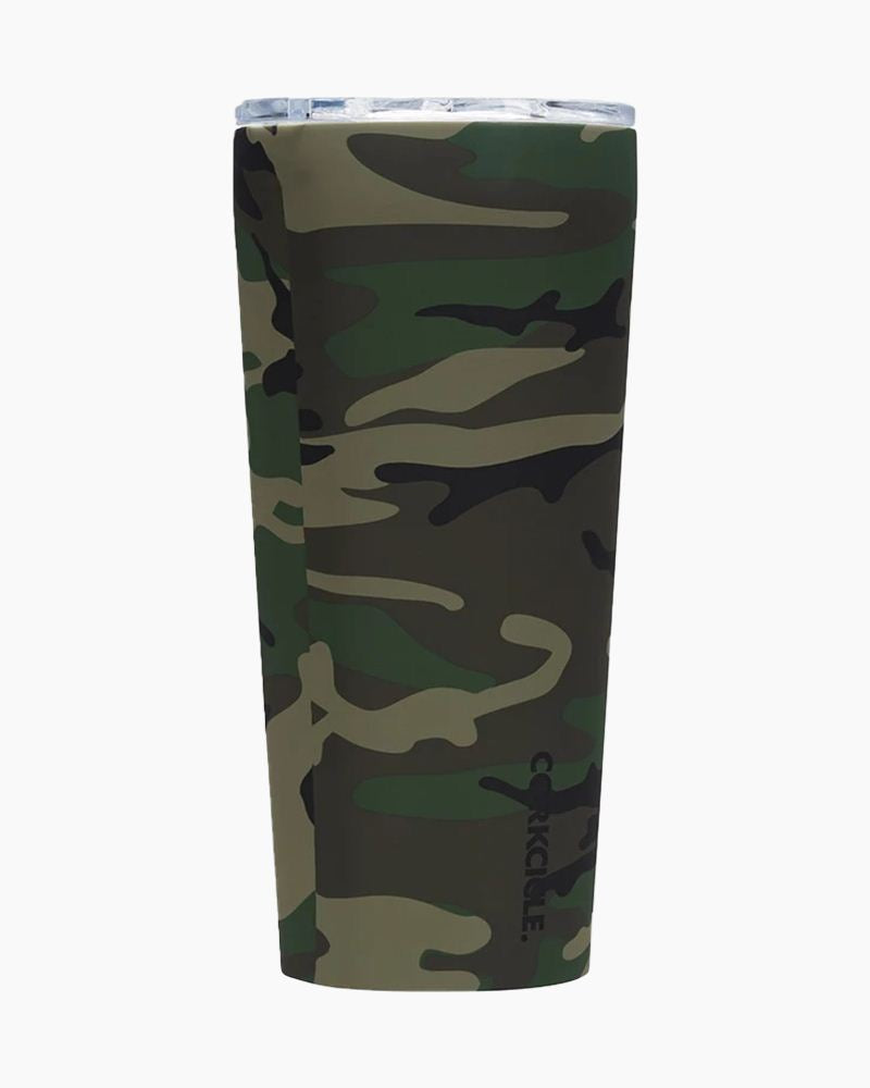 Corkcicle Insulated Tumbler (24oz) - Woodland Camo