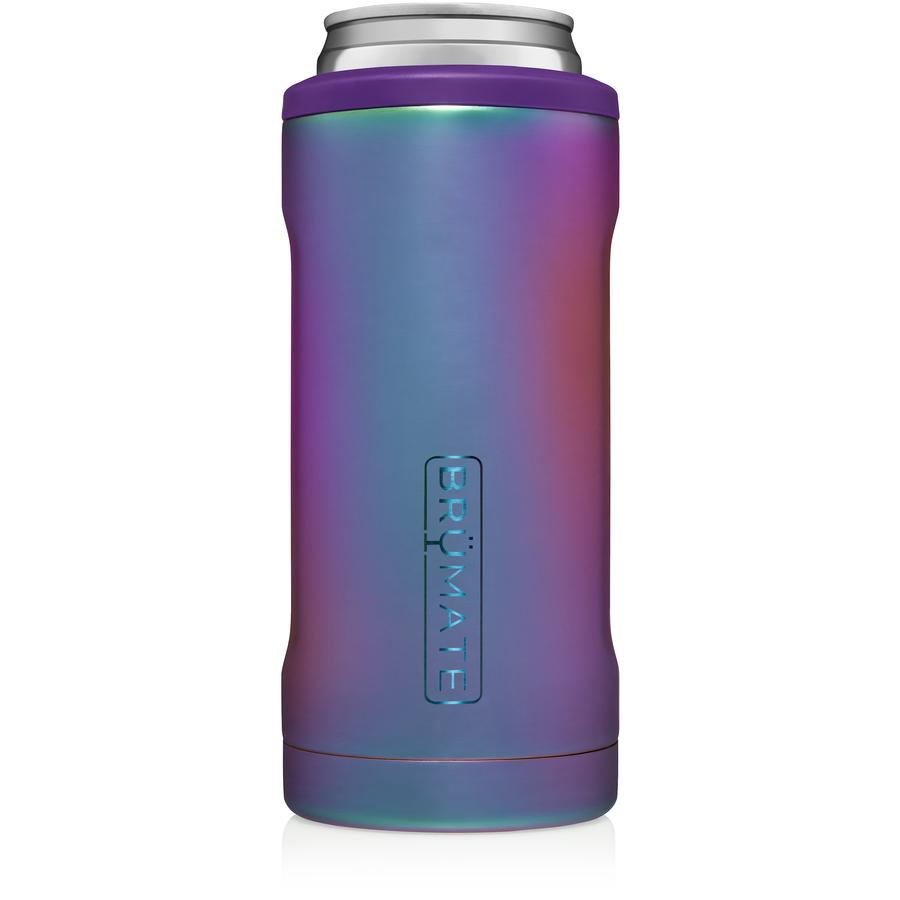 BruMate Hopsulator Slim Can (12 oz) - Rainbow Titanium