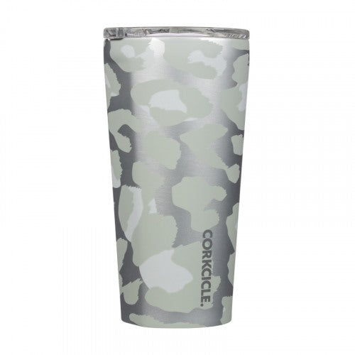 Corkcicle Exotic Tumbler (16oz) - Snow Leopard